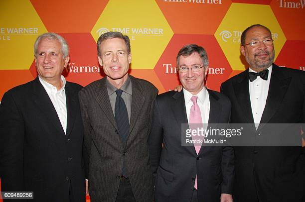 Edwin Schlossberg Jeff Bewkes Glenn Britt and Richard Parsons attend Time Warner Time Warner Cable present groundbreaking 'Home to the Future'...