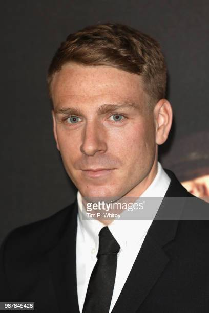 Edwin Thomas attends the UK premiere of 'The Happy Prince' at Vue West End on June 5 2018 in London England
