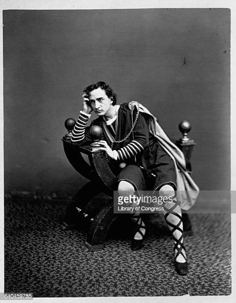 Edwin Thomas Booth as Hamlet
