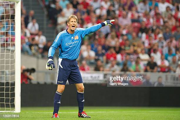 Edwin van der Sar during his Testimonial at the Amsterdam Arena on August 32011 in AmsterdamNetherlands