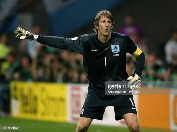 Edwin Van der Sar, Holland goalkeeper