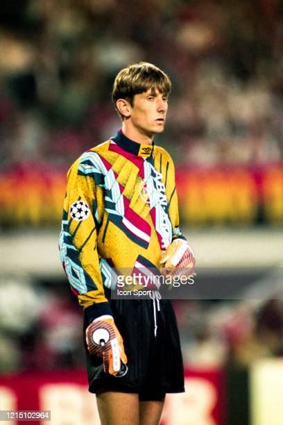 Edwin VAN DER SAR of Ajax during the Champions League Final match between Ajax Amsterdam and Milan AC at ErnstHappelStadion Vienna Austria on 24th...