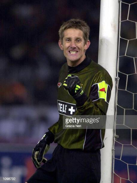 Edwin Van Der Sar of Juventus during a SERIE A 20th Round League match between Juventus and AC Milan played at the Delle Alpi stadium Torino Enrico...