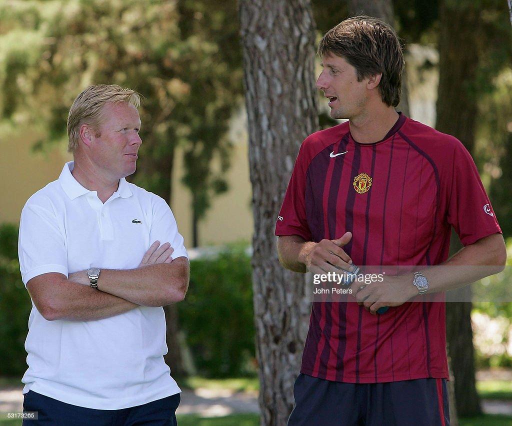 Manchester United Pre Season Training