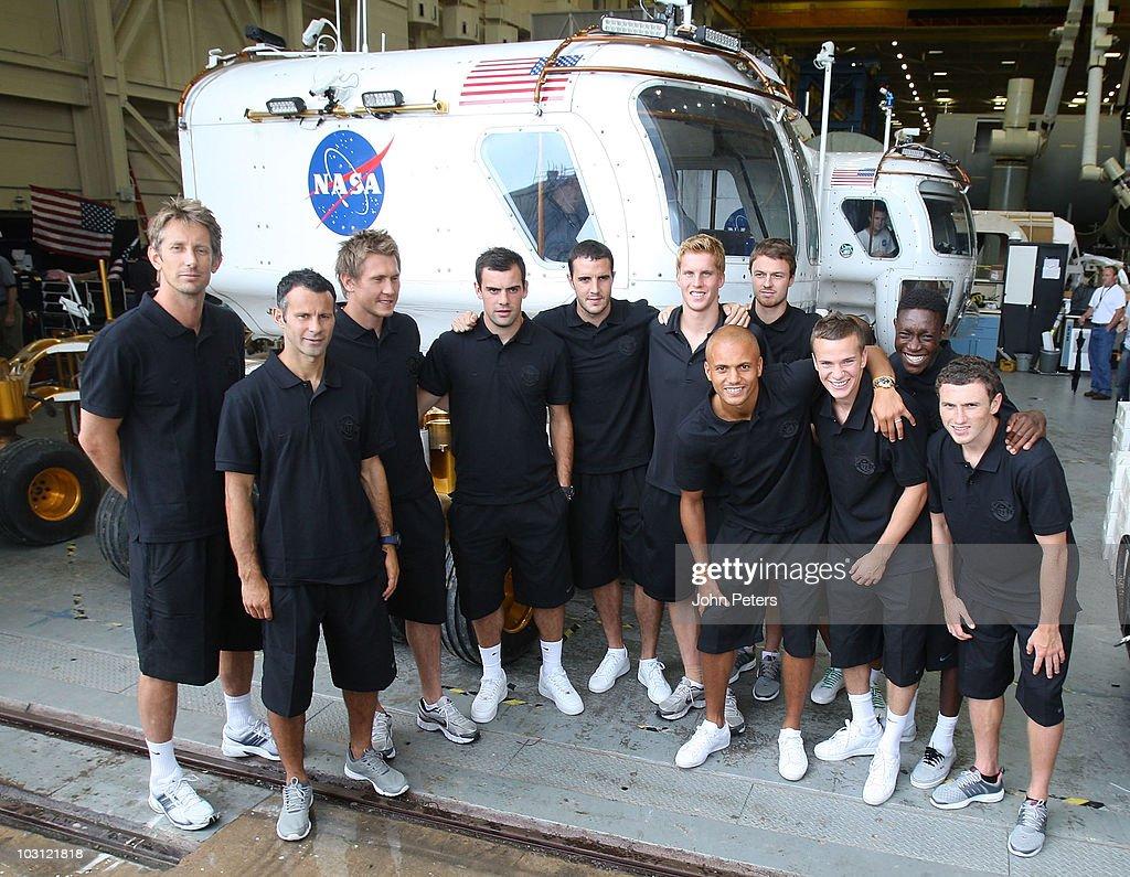 Manchester United Visit NASA