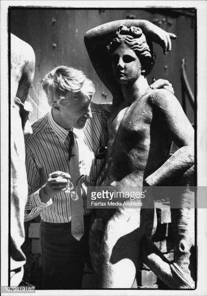 Edwin Wilson examines one of the statues***** attracted to performances of Shakespeare's A MidSummer Night's Dream are turning trips to the nearby...