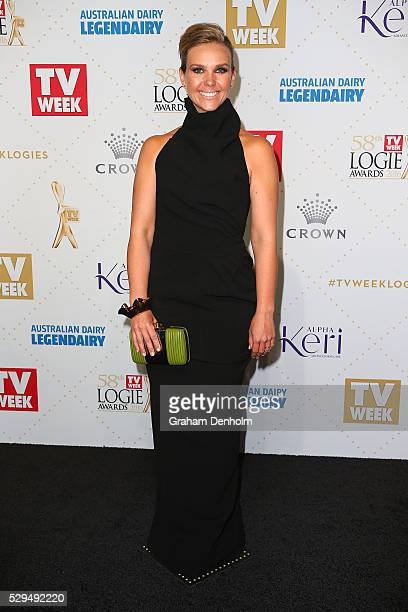 Edwina Bartholomew arrives at the 58th Annual Logie Awards at Crown Palladium on May 8 2016 in Melbourne Australia