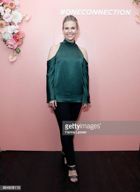 Edwina Bartholomew attends the Bumble Bizz launch on March 20 2018 in Sydney Australia