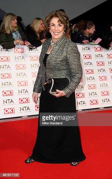Edwina Currie attends the National Television Awards at 02 Arena on January 21 2015 in London England