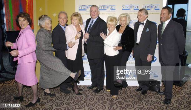 Edwina Currie Phyllida Law Nickolas Grace Christopher Biggins Barbara Windsor and Paul Burrell