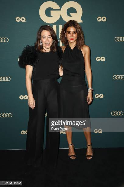 Edwina McCann and Christine Centenera attends the GQ Australia Men of The Year Awards at The Star on November 14 2018 in Sydney Australia