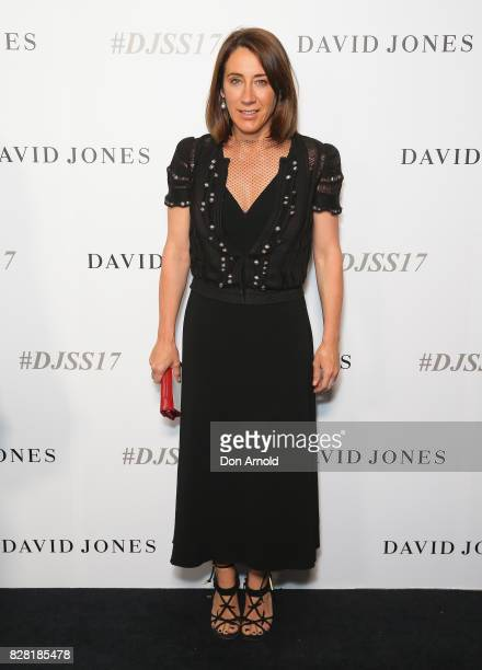 Edwina MCCann arrives ahead of the David Jones Spring Summer 2017 Collections Launch at David Jones Elizabeth Street Store on August 9 2017 in Sydney...
