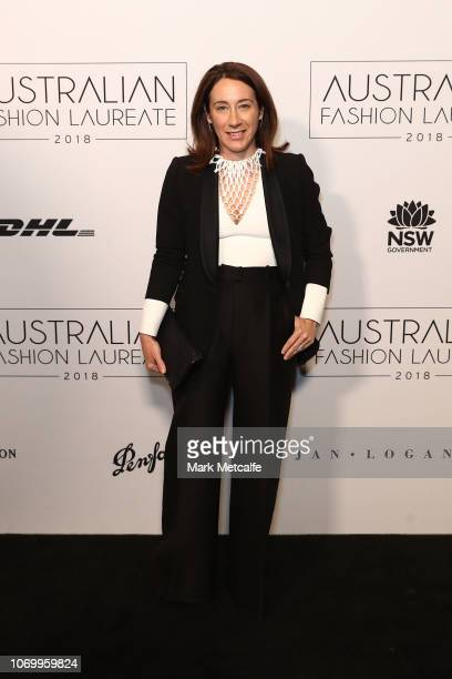 Edwina McCann attends the 2018 Australian Fashion Laureate Awards on November 20 2018 in Sydney Australia