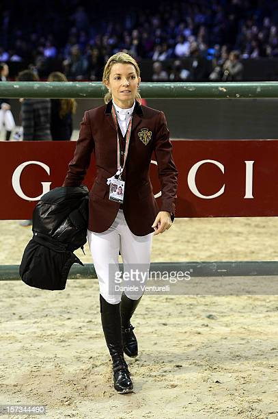 Edwina TopsAlexander attends the Gucci Paris Masters 2012 at Paris Nord Villepinte on December 2 2012 in Paris France