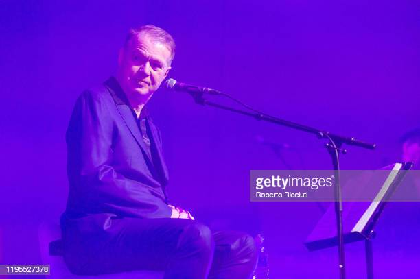 "Edwyn Collins performs on stage at Assembly Rooms as part of the ""Burns and Beyond"" festival on January 23, 2020 in Edinburgh, Scotland."