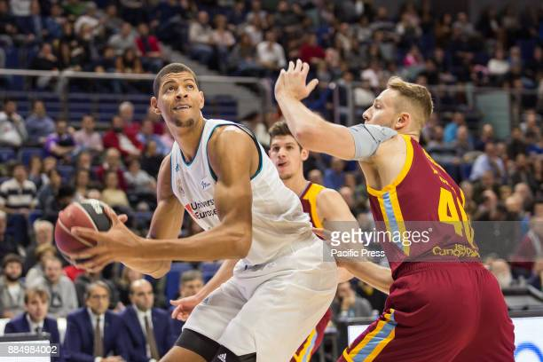 Edy Tavares during Real Madrid victory over Herbalife Gran Canaria in Liga Endesa regular season game celebrated in Madrid at Wizink Center December...