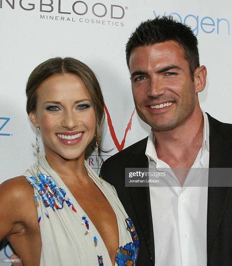Edyta Sliwinska and Aiden Turner attend the Birthday Celebration For Edyta Sliwinska From 'Dancing With The Stars' at XIV on May 24, 2010 in West Hollywood, California.