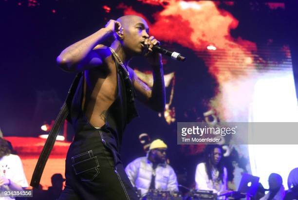 Eearz performs during the SXSW Takeover Eardummers Takeover at ACL Live at the Moody Theatre during SXSW 2018 on March 16 2018 in Austin Texas