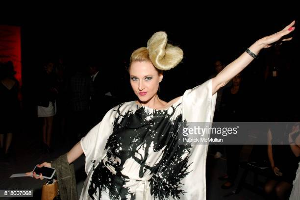 Eedee Lush attends Richie Rich 2011 Fashion Show at The Studio at Lincoln Center on September 9 2010 in New York City
