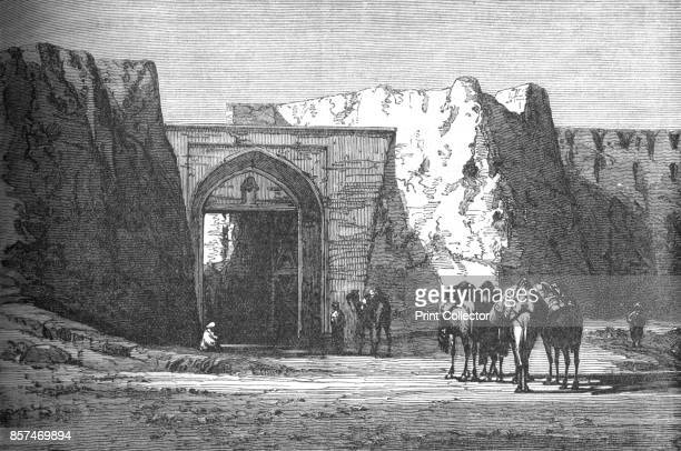 Eedgah or North Gate Candahar' circa 1880 Episode of the Second AngloAfghan War from 1878 to 1880 From British Battles on Land and Sea Vol IV by...