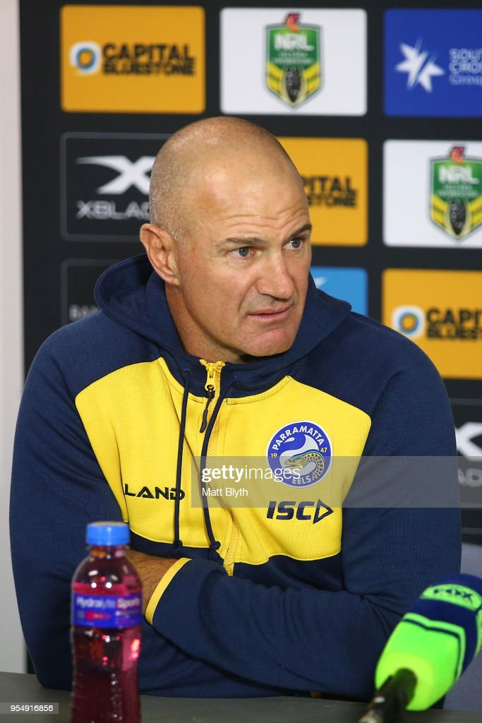 NRL Rd 9 - Sharks v Eels : News Photo