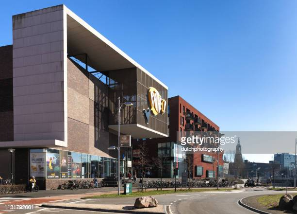 eemplein with cinema pathe in amersfoort - bafta after party stock pictures, royalty-free photos & images