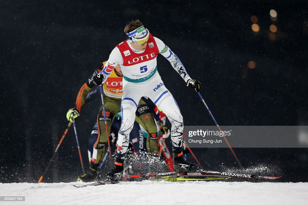 FIS Nordic Combined World Cup presented by Viessmann  - Test Event For Pyeongchang 2018 Olympic Winter Games - Day 2