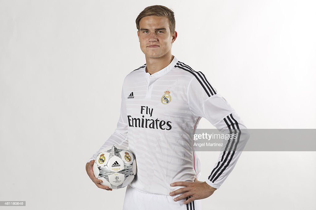 Real Madrid Castilla Portrait Session : News Photo
