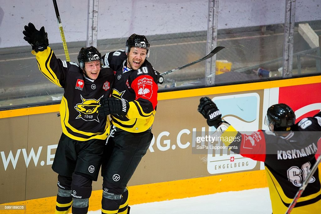 SaiPa Lappeenranta v Lulea Hockey - Champions Hockey League : News Photo