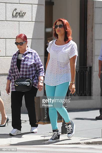 Efe Bal is seen on May 28 2014 in Milan Italy