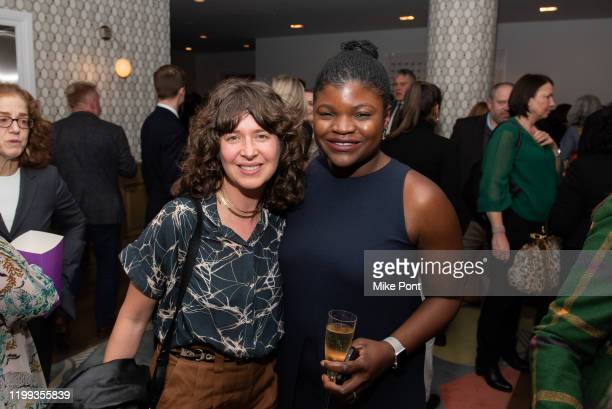 Efe Sokol meets with a guest during the at Crosby Hotel on January 13 2020 in New York City