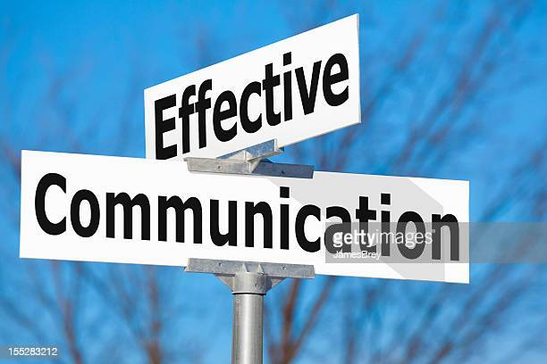 effective communication street sign - efficiency stock pictures, royalty-free photos & images