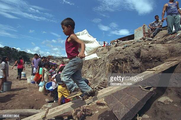 Effects of Hurricane Mitch in Honduras