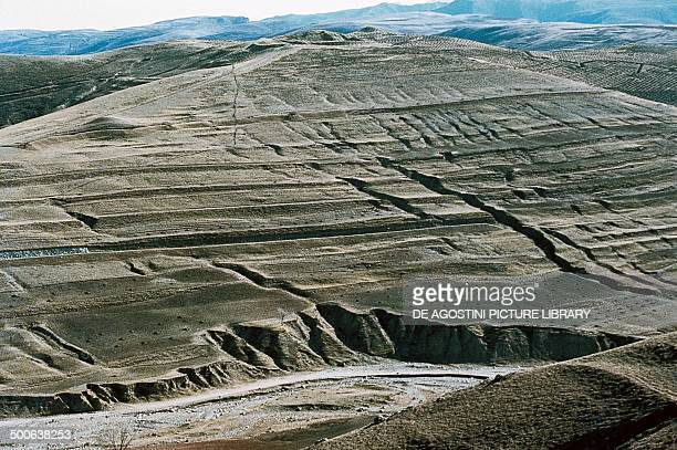 Effects of soil erosion Mongolia