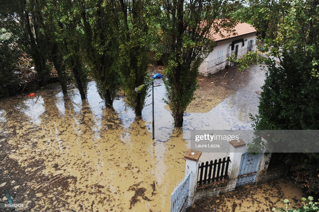 Six Dead In Storm Floods In Central Italy : News Photo