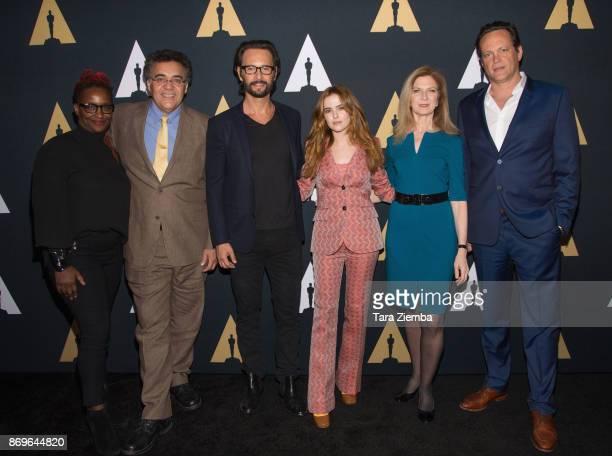 Effie Brown Rodrigo Garcia Rodrigo Santoro Zoey Deutch Dawn Hudson and Vince Vaughn attend the Academy Nicholl Fellowships in Screenwriting Awards...