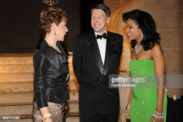 Effie Fribourg Nicolas Luchsinger and Pamela Joyner attend THE SCHOOL OF AMERICAN BALLET Winter Ball 2009 at David H Koch Theater on March 9 2009 in...