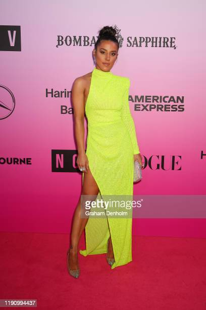 Effie Kats attends the NGV Gala 2019 at the National Gallery of Victoria on November 30 2019 in Melbourne Australia