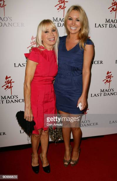 Effie Michaels and Natalie Michaels arrive for the premiere of 'Mao' Last Dancer' at the State Theatre on September 21, 2009 in Sydney, Australia.