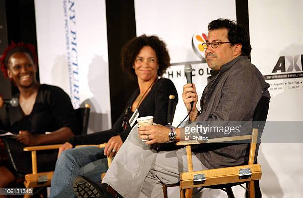 Effie T. Brown, Executive Producer, In The Cut, moderator, Stephanie Allain, Producer, Hustle and Flow, and Richard Gladstein, Producer, The Cider...