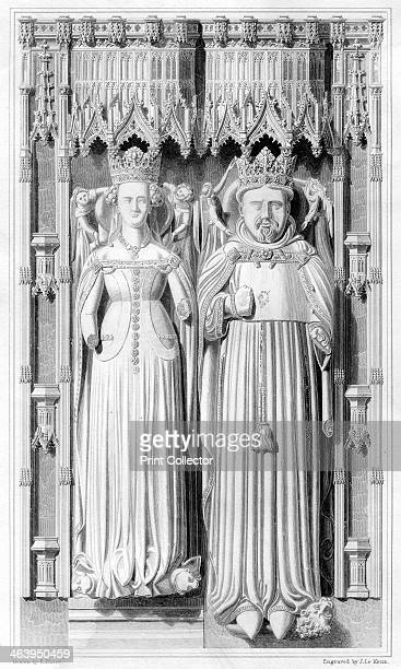 Effigy of Henry IV and his Queen Joanna of Navarre in Canterbury Cathedral 1826 Henry IV became the first king of the House of Lancaster when he took...