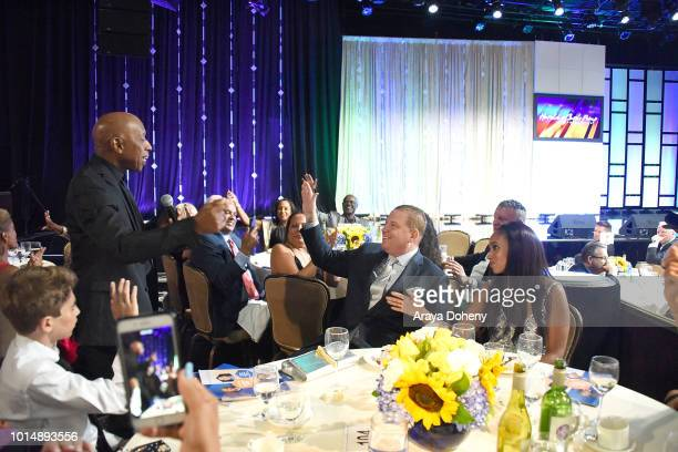 effrey Osborne attends the 18th Annual Harold and Carole Pump Foundation Gala at The Beverly Hilton Hotel on August 10 2018 in Beverly Hills...