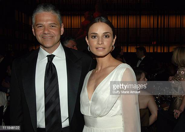 Efraim Grinberg and Mia Maestro during New York City Ballet Presents the World Premiere of Peter Martins' Full-Length Production of Romeo + Juliet at...