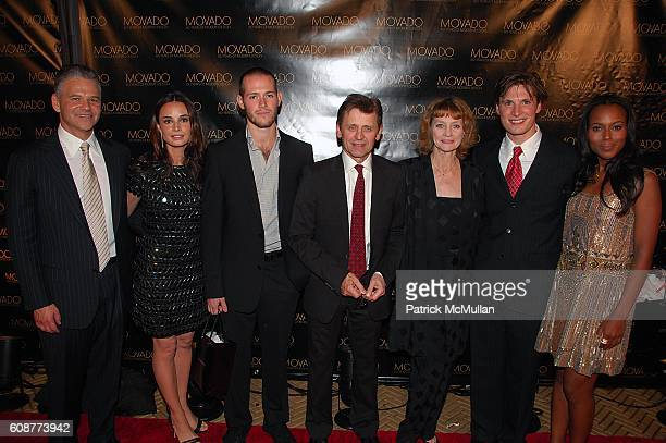 Efraim Grinberg Mia Maestro Doug Letheren Mikhail Baryshnikov Suzanne Farrell Kirk Henning and Kerry Washington attend MOVADO with John F Kennedy...