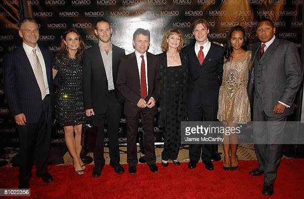 Efraim Grinberg President and CEO of Movado GroupMia Maestro Doug Letheren Mikhail Baryshnikov Suzanne Farrell Kirk Henning Kerry Washington and...