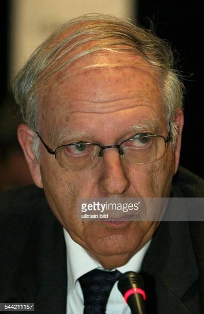 Efraim Halevy, ehemaliger des Leiter des Mossad, Israel