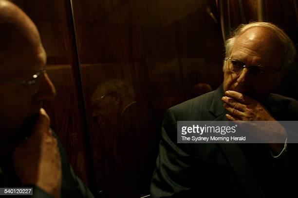 Efraim Halevy, former head of Israeli intelligence agency, Mossad, in Sydney, 20 October 2006. SMH Picture by LISA WILTSE