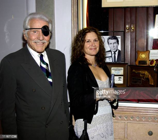 Efrem Zimbalist Jr and Stephanie Zimbalist during My Dinner of Herbs by Efrem Zimbalist Jr at Hollywood History Museum in Hollywood California United...