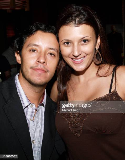 Efren Ramirez and Talinda Bennington during Crank Los Angeles Premiere After Party at Tokio in Hollywood California United States