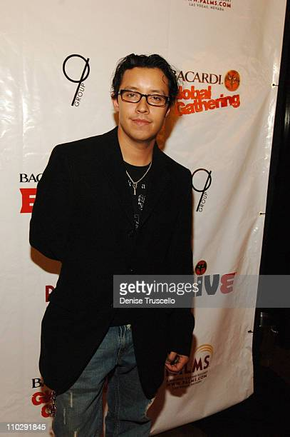 Efren Ramirez during Bacardi Global Gathering 2006 - B Live Red Carpet at The Pool At The Palms Hotel and Casino Resort in Las Vegas, Nevada.